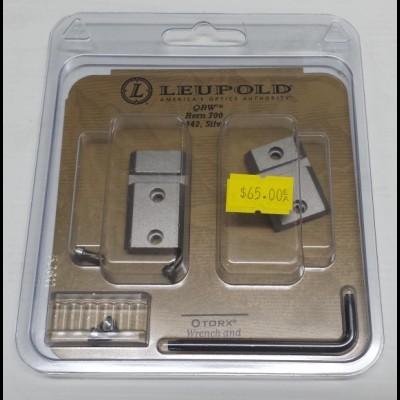 Leupold QRW Remington 700 2-pc Silver