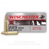 Winchester .223 Varmint X 55gr 20pk