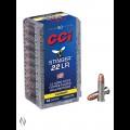 CCI 22LR STINGER 32GR CPHP 1640FPS 50pk