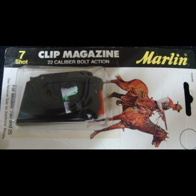 Marlin 780 and 25 magazine