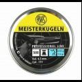 RWS Meisterkugeln 177AIR Match pellets