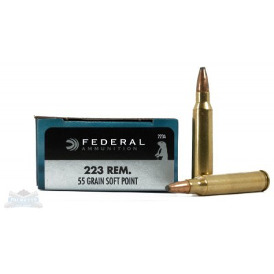 Federal .223 Power-Shok 55gr 20pk