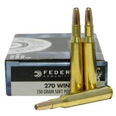 Federal .270 Power-Shok 150gr 20pk
