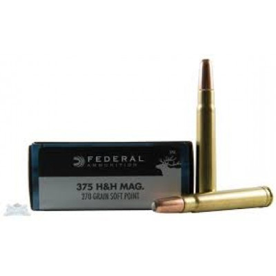Federal .375 H&H Power-Shok 270gr 20pk