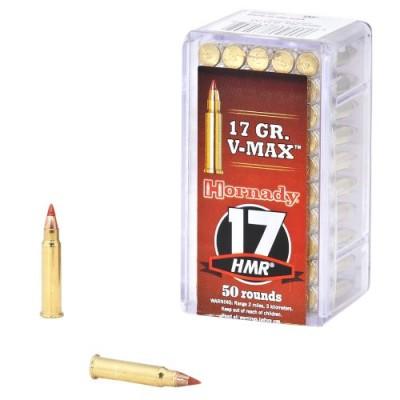 Hornady 17 HMR® 17 gr V-MAX® 50 PK
