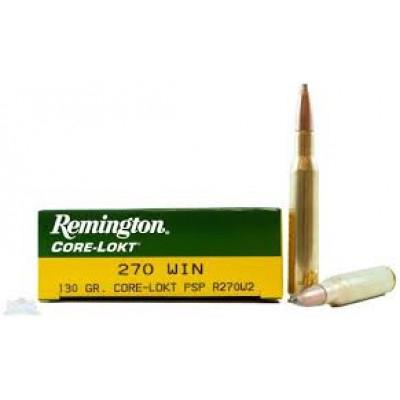 Remington .270 Core-Lokt 130gr 20pk