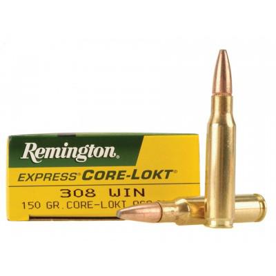 Remington .308 Core-Lokt 150gr 20pk