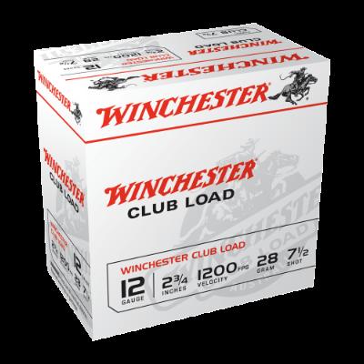 """WINCHESTER Super Target 12G 7.5 2-3/4"""" 28GM 250 Pk"""