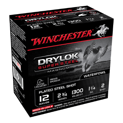 "WINCHESTER DRYLOK 12G 2 2-3/4"" 36GM CASE"