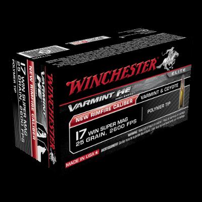 WINCHESTER ELITE VARMINT HE 17WSM 25GR