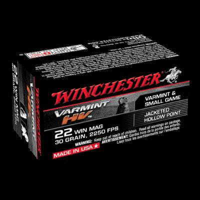 WINCHESTER SUPREME 22WMR 30GR JHP