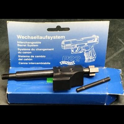 Walther Ulm/Donau interchangeable 5 inch barrel kit P22