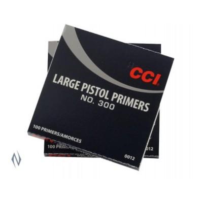 CCI PRIMER 300 LARGE PISTOL (1000)