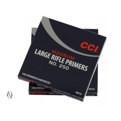 CCI PRIMER 250 LARGE RIFLE MAGNUM (1000)