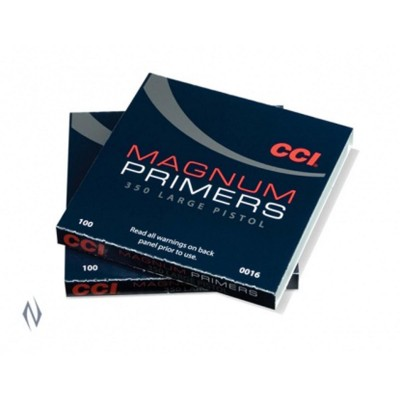 CCI PRIMER 350 LARGE PISTOL MAGNUM (1000)