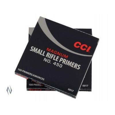 CCI PRIMER 450 SMALL RIFLE MAGNUM (1000)