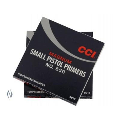CCI PRIMER 550 SMALL PISTOL MAGNUM (1000)