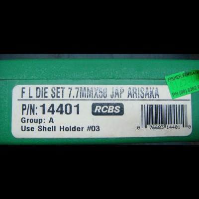 *SPECIAL* - RCBS FL Die Set 7.7x58MM Jap PN 14401