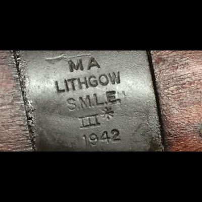 Lithgow No 1 MK III* 303BRIT TAG 456 NFID F00016348