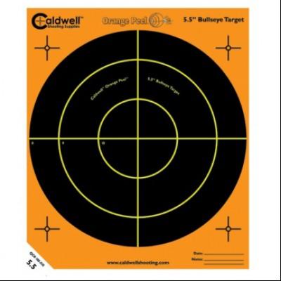 "CALDWELL ORANGE PEEL BULLSEYE 5.5"" 5 PACK"