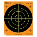 "CALDWELL ORANGE PEEL BULLSEYE 8"" 10 PACK"