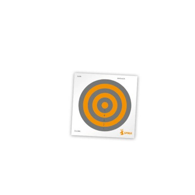 Spika Paper Shooting Targets 6""