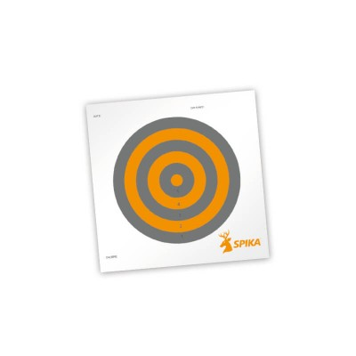 Spika Paper Shooting Targets 8""