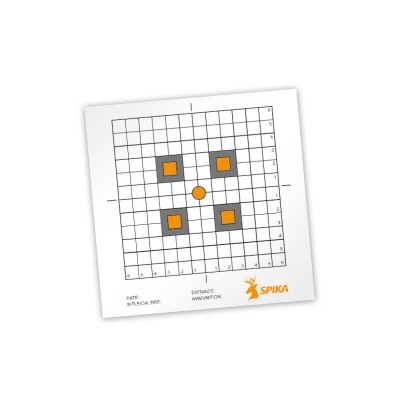 Spika Paper Shooting Targets 12""