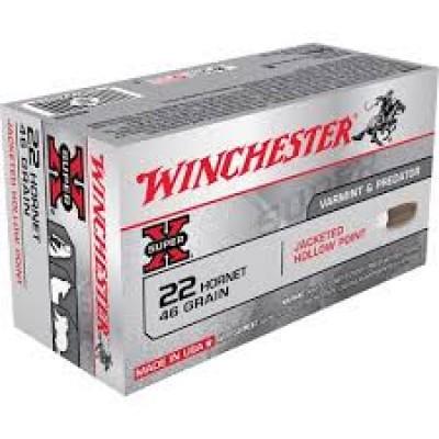 Winchester .22 Hornet Super X HP 46gr 50pk