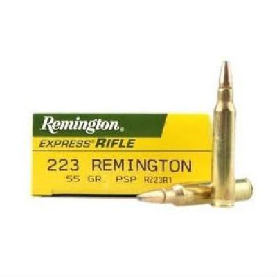 Remington .223 PSP 55gr 20pk